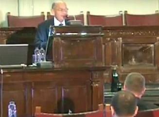 Presedintele Academiei Romane a uitat numele lui Iohannis