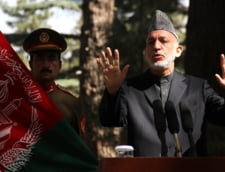 """Presedintele Afganistanului acuza SUA de """"joc dublu"""""""