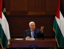 """Presedintele Autoritatii Palestiniene respinge acordul de pace din Orientul Mijlociu. Abbas: """"Nicio pace fara incetarea ocupatiei israeliene"""""""