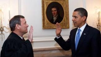 Presedintele Barack Obama a rostit juramantul de investitura