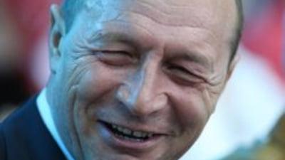 Presedintele Basescu: De unde vrei, mai Vantule, respect?