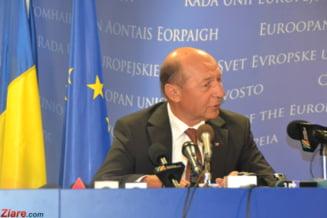 Presedintele Basescu pleaca la Bruxelles - intalniri cu van Rompuy si Barroso