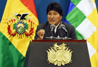 Presedintele Boliviei, Evo Morales, a demisionat