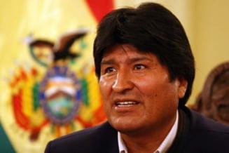 Presedintele Boliviei a fugit de la un miting: Minerii aruncau dinamita