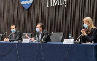 """Presedintele CJ Timis Alin Nica si senatorul Alina Gorghiu, atac in rafala la adresa lui Vlad Voiculescu: """"Mesajele lui ajuta PSD"""""""