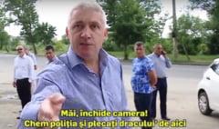 """Presedintele CJD, Adrian Tutuianu, """"elegant"""" cu presa: """"Plecati dracului, de aici!"""""""