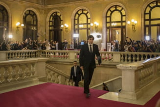 Presedintele Cataloniei refuza sa vorbeasca in Senatul spaniol