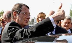 """Presedintele Ciprului va prezenta joi """"planul B"""" pentru salvarea tarii"""