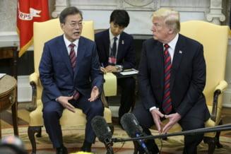 Presedintele Coreei de Sud a ramas perplex, dupa ce Trump a anulat intalnirea cu Kim Jong-un fara sa intrebe pe nimeni