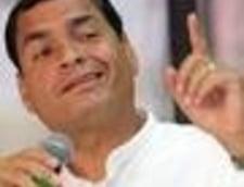 Presedintele Ecuadorului vrea sa desfiinteze presa scrisa