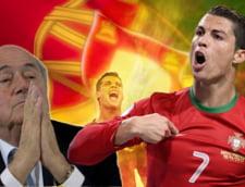 Presedintele FIFA il ironizeaza pe Cristiano Ronaldo