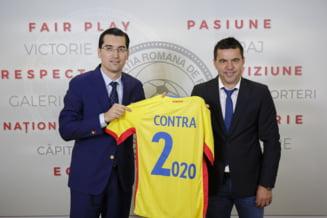 Presedintele FRF a dezvaluit salariul lui Cosmin Contra la nationala Romaniei