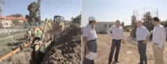 Presedintele Fondului de Mediu, in control la proiectele din Dambovita