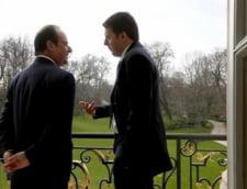 Presedintele Frantei si premierul Italiei, la un mars impotriva terorismului