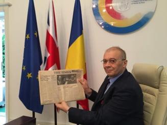 Presedintele Iohannis a rechemat in tara alti 14 ambasadorii, printre care Dan Mihalache (Marea Britanie) si Adrian Cioroianu (UNESCO)