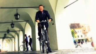 Presedintele Iohannis sprijina un protest: Sunt alaturi de biciclisti