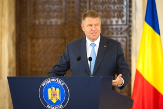 Presedintele Iohannis vorbeste in Parlament (Video)