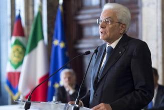 Presedintele Italiei a dizolvat Parlamentul si cheama cetatenii la alegeri anticipate