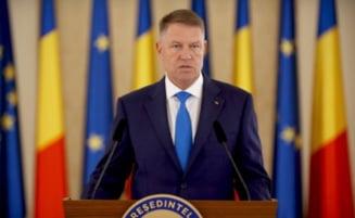 Presedintele Klaus Iohannis - amendat cu 5.000 de lei