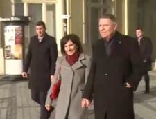Presedintele Klaus Iohannis, la slujba speciala de Craciun