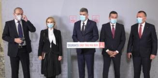 """Presedintele Klaus Iohannis a primit delegatia PSD. """"Tema discutiei de astazi este evidenta"""""""