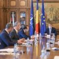 Presedintele Klaus Iohannis are sedinte de lucru cu premierul Florin Citu si cu mai multi membri ai guvernului