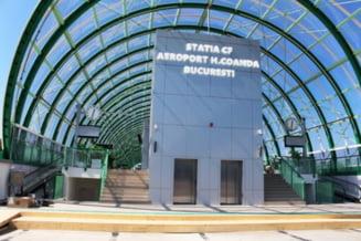 Presedintele Klaus Iohannis merge luni cu Sageata Albastra pe traseul Gara de Nord - Aeroportul Otopeni