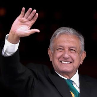 Presedintele Mexicului: Voi purta masca atunci cand nu va mai exista coruptie in tara
