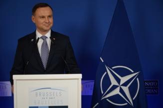 Presedintele Poloniei spune VETO pe legile care pun sistemul de Justitie sub comanda Guvernului