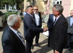 Presedintele Raionului Cahul: Un schimb de experienta cu Politia Locala din Galati este binevenit