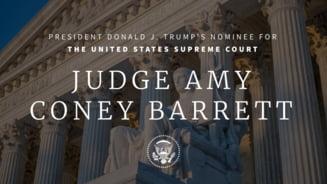 Presedintele SUA Donald Trump a anuntat nominalizarea judecatoarei Amy Coney Barrett la Curtea Suprema