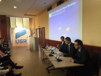 Presedintele USR, la Timisoara: Miza meschina si penala a catorva lideri e transformata in strategie nationala