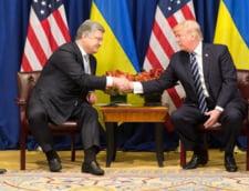 Presedintele Ucrainei ar fi platit 400.000 de dolari pentru a se intalni cu Donald Trump