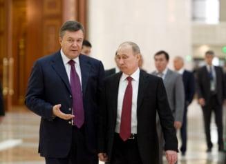 Presedintele Ucrainei discuta cu Putin un tratat de parteneriat strategic cu Rusia