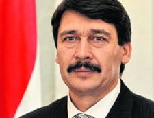 Presedintele Ungariei s-a plans lui Klaus Iohannis ca romanii arunca deseuri in Somes si Tisa