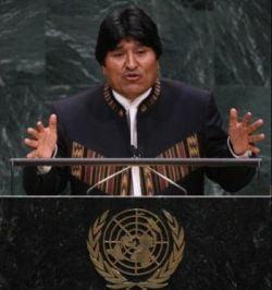 Presedintele bolivian Evo Morales, in greva foamei