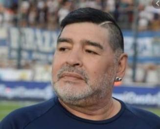 Presedintele clubului Napoli, scrisoare emotionanta dupa decesul lui Maradona. Vrea sa schimbe numele stadionului
