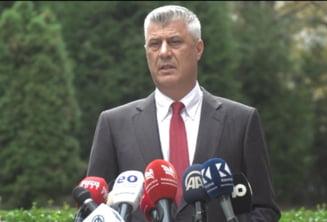 Presedintele din Kosovo, arestat la scurt timp dupa demisia din functie. Este acuzat de crime de razboi