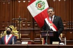 Presedintele interimar al statului Peru a demisionat dupa ce doua persoane au murit in timpul protestelor