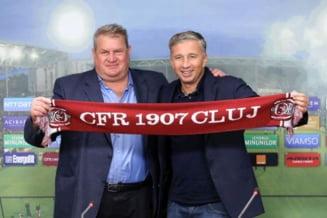 """Presedintele lui CFR Cluj rade de Becali si Pandele: """"Ceva s-a scurtcircuitat in povestea lor"""""""