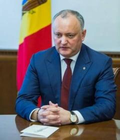 Presedintele prorus Igor Dodon santajeaza cu cresterea pretului la gaze, daca socialistii nu vor fi la guvernare in R.Moldova