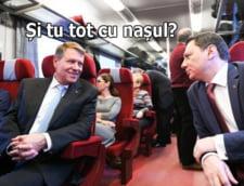 Presedintele s-a plimbat cu trenul, iar internetul s-a umplut de glume. Iata care sunt cele mai bune