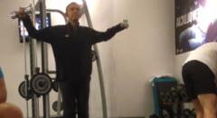 Presedintele sportiv: Barack Obama, filmat la sala de fitness (Video)