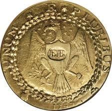 Pret urias pentru un singur banut - s-a vandut prima moneda de aur batuta in SUA