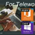 Preturi bune pentru licentele de Windows 10 la 7.96Euro si Office 26.86Euro
