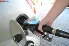 Preturile carburantilor s-au marit cu 20 de bani/litru in ultimele doua saptamani si vor continua sa creasca