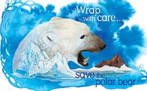"""Prezervativele ecologice: """"Acoperiti cu atentie, salvati ursul polar"""""""