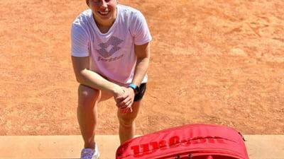 Prietena Simonei Halep a invins cancerul si se antreneaza din nou!
