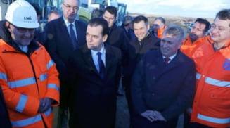 Prim-ministrul Ludovic Orban, vizita de lucru in judetul Olt. Doi ministri din cabinetul sau, alaturi de el