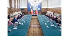 Prim-ministrul Mihai Tudose s-a intalnit cu membri ai Congresului SUA. Ce subiecte au fost analizate